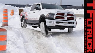 Download 2015 Ram 2500 HEMI Power Wagon Cold Steel on Ice: 3 Locking Differentials Tested Video