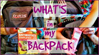 Download WHAT'S IN MY BACKPACK | Pharmacy School Video