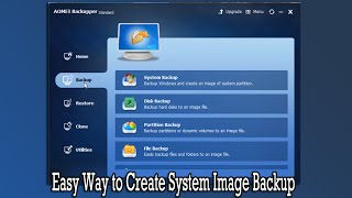 Download Easy Way to Create System Image Backup Video