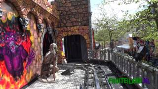 Download Ghost train Haunted Castle onride Video