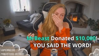 Download I Donated $10,000 If They Said This Word (Twitch Streamers) Video