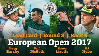 Download European Open 2017 Lead Card Round 3 Back 9 Video