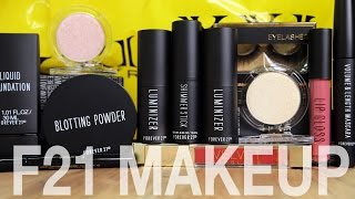 Download FOREVER 21 MAKEUP DISASTER   First Impressions Video