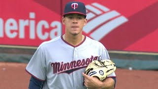 Download MIN@HOU: Berrios strikes out eight in solid start Video
