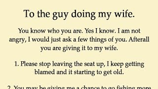 Download Husband Realized His Wife Is Cheating Rather Than Revenge Just Left a Note for Him Video