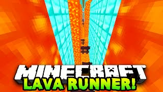 Download Minecraft RUN FROM LAVA PARKOUR! (Lava Runner) w/PrestonPlayz & The Pack! Video