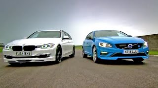 Download Alpina D3 Biturbo Touring vs Volvo V60 Polestar - Fifth Gear Video
