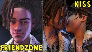 Download Clem Friendzone vs Kisses Louis Romance -All Choices- The Walking Dead The Final Season Episode 2 Video