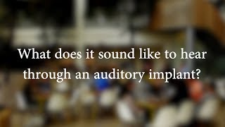 Download Hearing through auditory implants in noisy places - Electro-Haptics Research Project Video