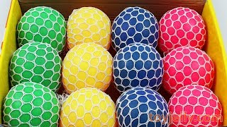 Download Squishy Slime Mesh Ball Box Playset Ice Cream Cake Learn Colors Baby Toy Kinder Joy Surprise Egg Video