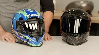 Download ICON Airframe Pro Warbird Helmet Review at RevZilla Video