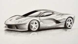 Download How to Draw a Car: Ferrari - Fine Art-Tips Video