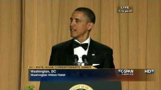 Download C-SPAN: President Obama at the 2011 White House Correspondents' Dinner Video