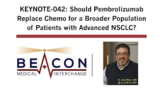 Download KEYNOTE-042: Should Pembrolizumab Replace Chemo for Broader Population with Adv. NSCLC? (BMIC-038) Video