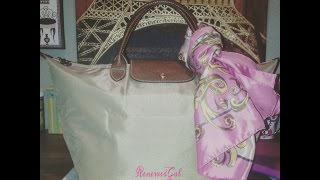 Download Review Longchamp Le Pliage Medium Handbag Video
