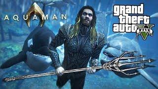 Download ULTIMATE AQUAMAN MOD w/ Atlantis Underwater City! (GTA 5 Mods) Video