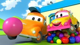 Download Tom the Tow Truck's Car Wash and BABY TOM | Truck cartoons for kids Video