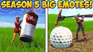 Download HOW TO DO BIG EMOTES IN SEASON 5! - Fortnite Funny Fails and WTF Moments! #258 (Daily Moments) Video
