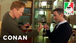 Download Conan & Jordan Schlansky's Italian Wine Tasting - CONAN on TBS Video