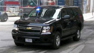 Download Secret Service Suburban at Ground Zero For Obama at World Trade Center New York Video