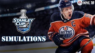 Download NHL 18 Stanley Cup Playoff Simulations (Conference Finals & Possibly Finals) Video