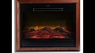 Download Heat Surge AmishMade Portrait WallHanging Fireplace Video
