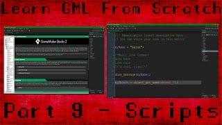 Download [GAMEMAKER STUDIO 2] Learn GameMaker Language Part 9 - Scripts Video