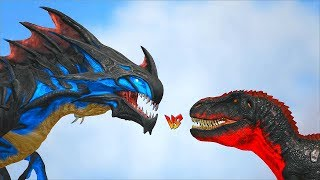 Download Ark Survival - REAPER TITAN vs ALPHA TREX/INDOMINUS REX and many more [Ep.350] Video