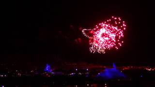 Download Wishes Magic Kingdom Fireworks from California Grill ″Celebration at the Top″ Private Balcony Video