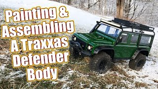 Download Customize Your Truck - Traxxas TRX-4 Land Rover Defender Painting & Detailing Tips | RC Driver Video