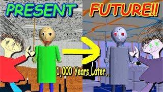Download FUTURISTIC BALDI 1000 YEARS LATER!! | Baldi's Basics MOD: Baldi's Basics 1000 Years Later Video