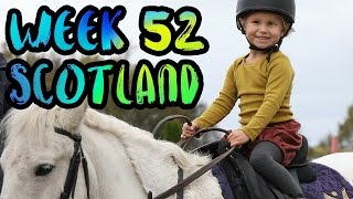 Download The BEST Adventures in Scotland with Kids!! Fairy Pools and Gleneagles!! /// WEEK 52 : Scotland Video