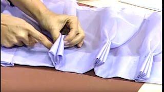 Download Como hacer una Cortina de Pliegues. 1/4 Video