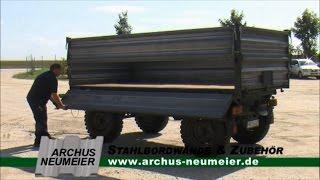 Download Aufbau 2-Achs-Anhänger Video
