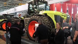 Download AGRITECHNICA 2017 - new Claas Torion, Jaguar TerraTrac, Axion TerraTrac Video