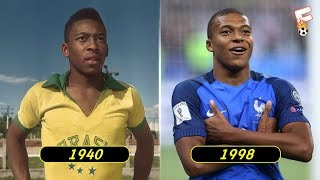 Download The Best Footballer Born In Every Year From 1939 - 2000 ⚽ Footchampion Video