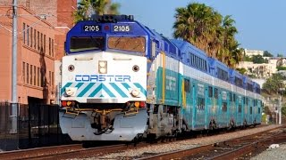 Download San Diego Coaster Trains Video
