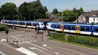 Download RailCam Road and Rail Crossing Mierlo-Hout Netherlands Video