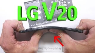 Download LG V20 Scratch Test - Bend Test - BURN test - Durability Video! Video