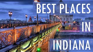 Download 10 Best Travel Destinations in Indiana USA Video