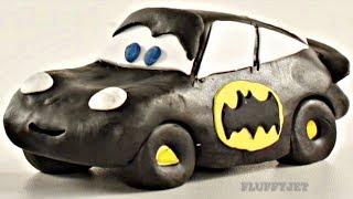 Download Lightning McQueen Batman Car Play Doh Stop Motion - Video For Kids Video