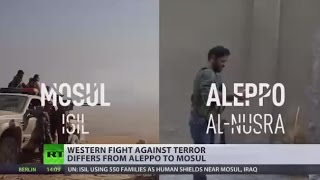 Download 'Acceptable evil': Western definition of terror fight differs between Aleppo & Mosul Video