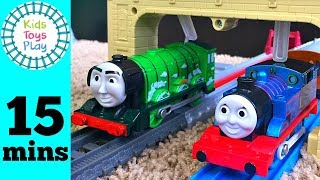 Download Thomas Train Tomy Trackmaster Races! | Thomas and Friends Trackmaster VS Tomy Train Races for kids Video