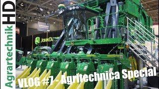 Download AGRITECHNICA 2017 | JOHN DEERE Neuheiten | VLOG #7 | John Deere Baumwollernter, s700i Mähdrescher Video