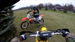 Download Honda Cr 250 vs Suzuki Rm 125!!! Video