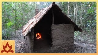 Download Primitive Technology: Wattle and Daub Hut Video