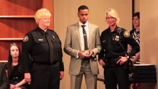 Download First Somali-American police officer in Oregon sworn in Video