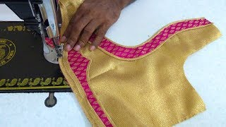 Download Simple blouse design stitching || women's fashion blouses || designer blouse for sarees Video