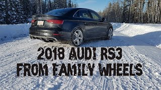 Download 2018 Audi RS3 review from Family Wheels Video