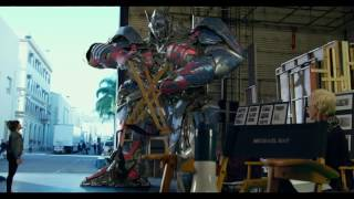 Download Transformers: The Last Knight - Optimus Prime On Set 'Angry Prime' Video